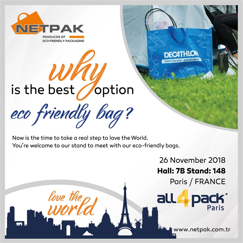 Netpak Packaging at All4Pack Paris Fair