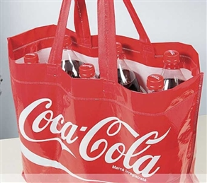 Very Rugged and Stylish Recyclable, PP Coca Cola Bag